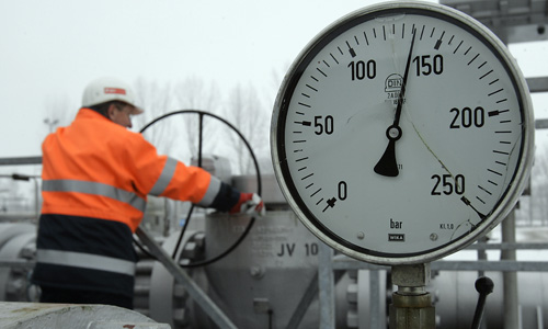 Gas distribution company–14 mln. euro